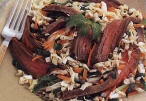 мясной салат по-тайски