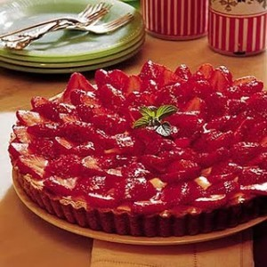 strawberry-tart