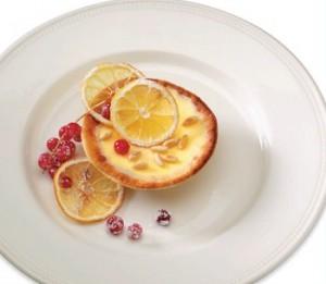 Порционные чизкейки с лимоном