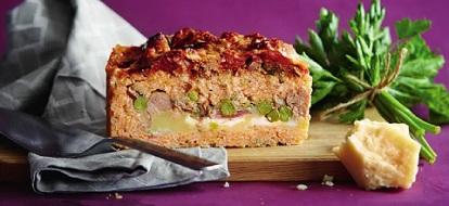 Неаполитанский рисовый пирог сарту