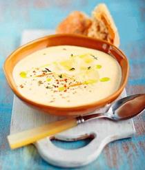 Крем-суп из пастернака и яблок