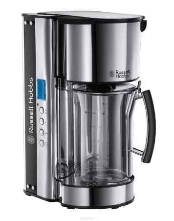 Купить Russell Hobbs 19650-56 Black Glass кофеварка