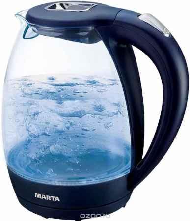 Купить Marta MT-1055, Dark Blue чайник электрический