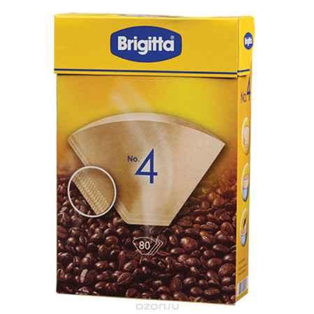 Купить Melitta Brigitta No.4 фильтры бумажные, 80 шт.