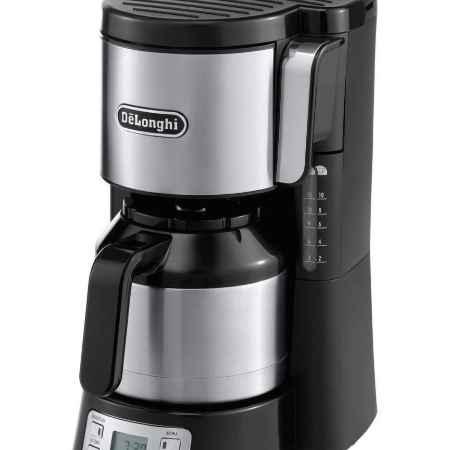 Купить DeLonghi ICM 15750, Metall капельная кофеварка
