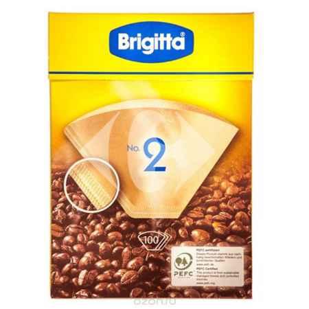 Купить Melitta Brigitta No.2 фильтры бумажные, 100 шт.