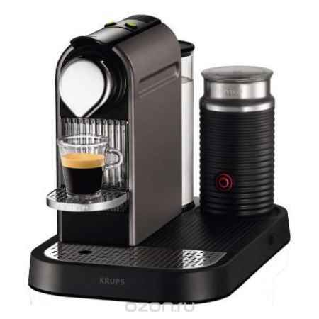 Купить Krups Nespresso CitiZ&Milk XN730T10, Titan кофемашина