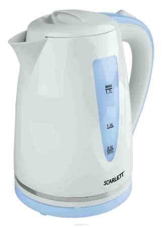 Купить Scarlett SC-EK18P06, White Blue электрический чайник