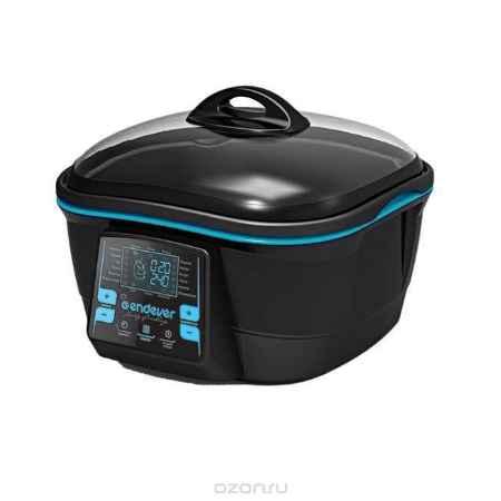 Купить Endever Skyline МС-28, Black Blue мультиварка/гриль