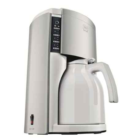 Купить Melitta Look Therm De Luxe, White Stainless Steel кофеварка
