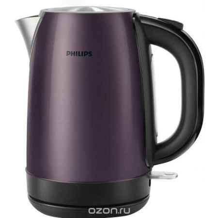 Купить Philips HD9322/40, Lilac Black электрический чайник