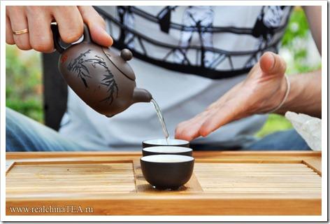 Методика заваривания белого чая