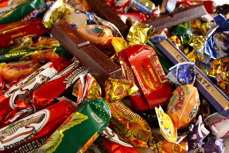 Основные сладости в новогоднем подарке