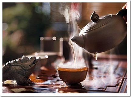 Использование специальной чайной посуды