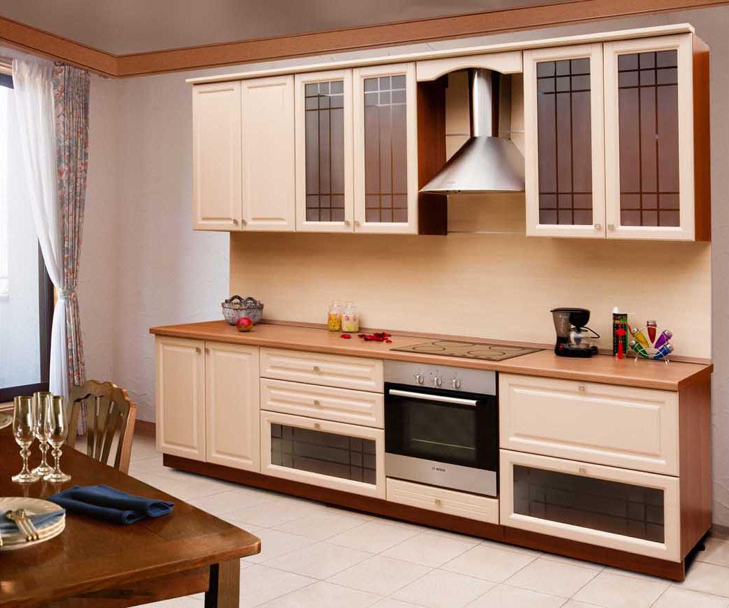 Из чего состоят наборы корпусной мебели для кухни