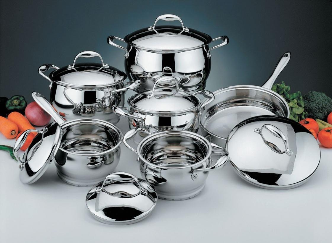 Как выбрать посуду для кухни