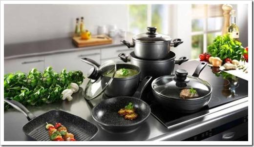 Необходимый комплект посуды для приготовления пищи