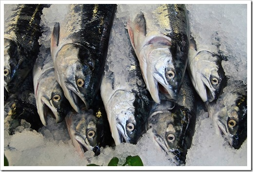 Рыба после заморозки