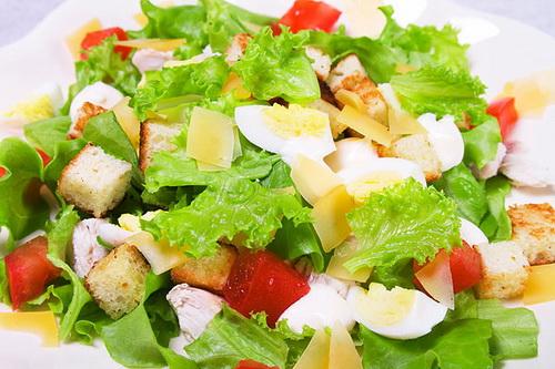 Салат Цезарь - рецепты