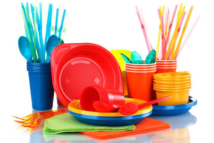 Виды пластиковой посуды