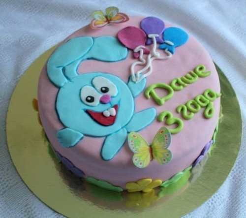 Рецепты украшения детских тортов