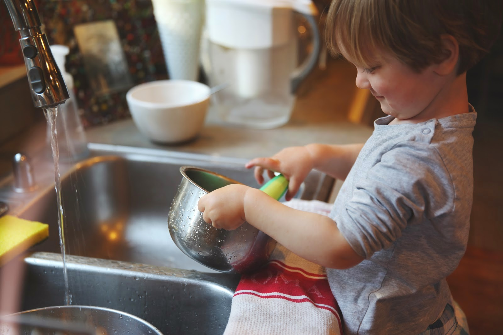 Как почистить посуду