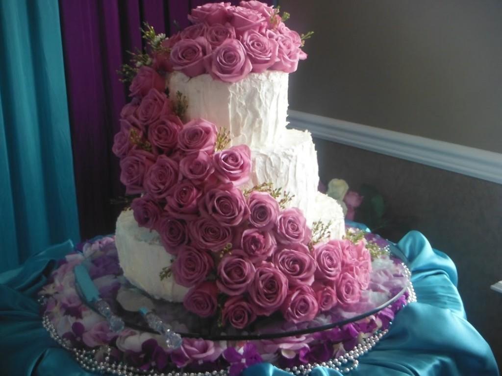 Как делать свадебный торт