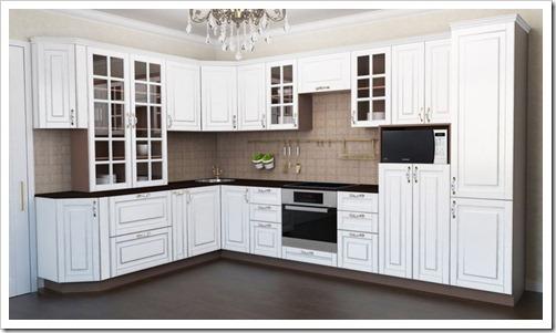 Какие материалы применяются для модульных кухонь?