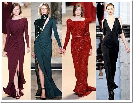 Женское бархатное платье