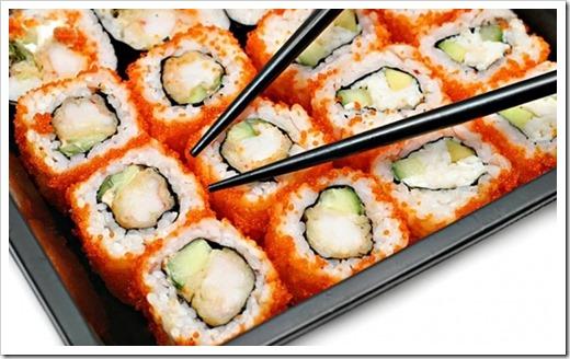 Суши и роллы с доставкой