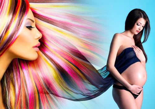как красить волосы при беременности