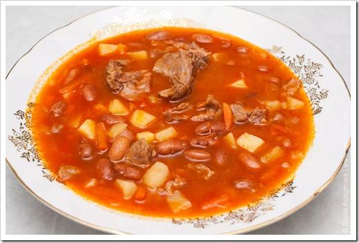 Варим суп из фасоли