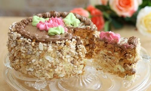 Как приготовить киевский торт в домашних условиях