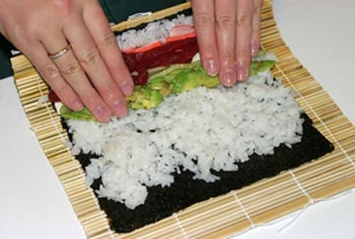 Как сделать домашние суши