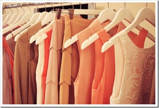 Систематизация вещей в шкафу