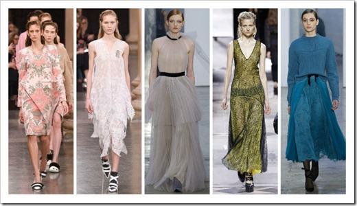 Самые стильные платья мировых подиумов