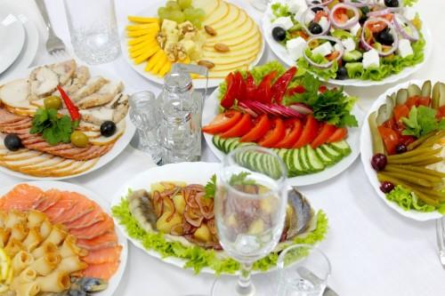 Как рассчитать меню на свадьбу