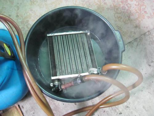 Чем промыть теплообменник газового котла