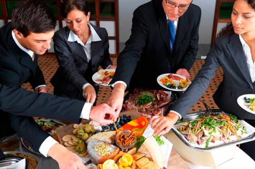 Как заказать готовый обед в офис
