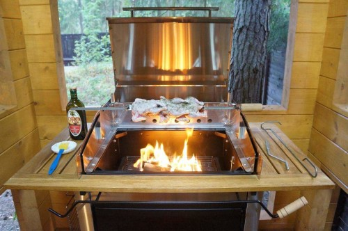Как выбрать дровяной гриль