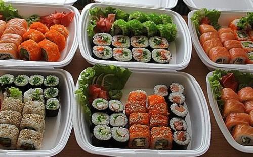 Где лучше заказать суши на дом