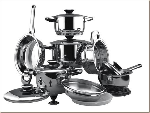 Особенности  металлической посуды
