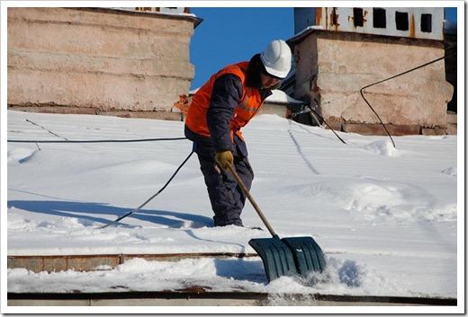 Как происходит утилизация снега?