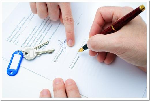 Если имеется мебель в съёмной квартире, обязательно пишите акт приёмки