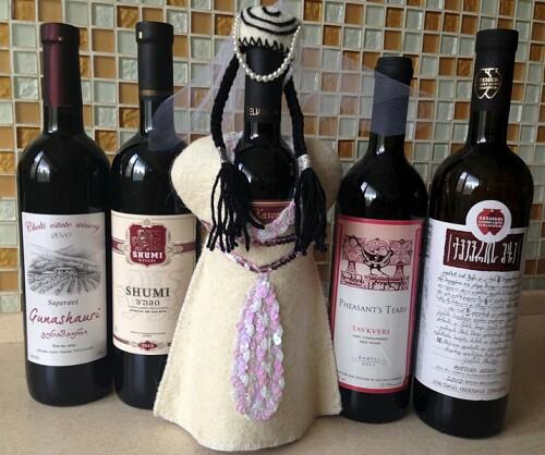Виды грузинских вин