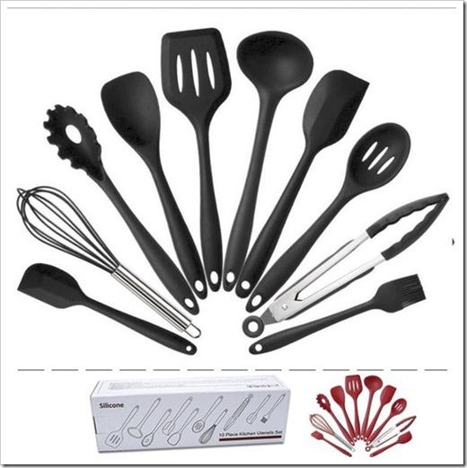 Популярные материалы для наборов кухонных принадлежностей