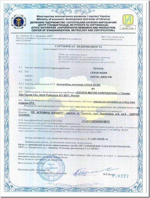 Этапы получения сертификата