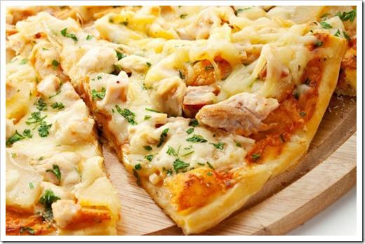 Ингредиенты для гавайской пиццы