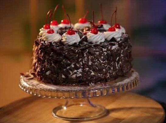 Торт черный лес рецепт от александра