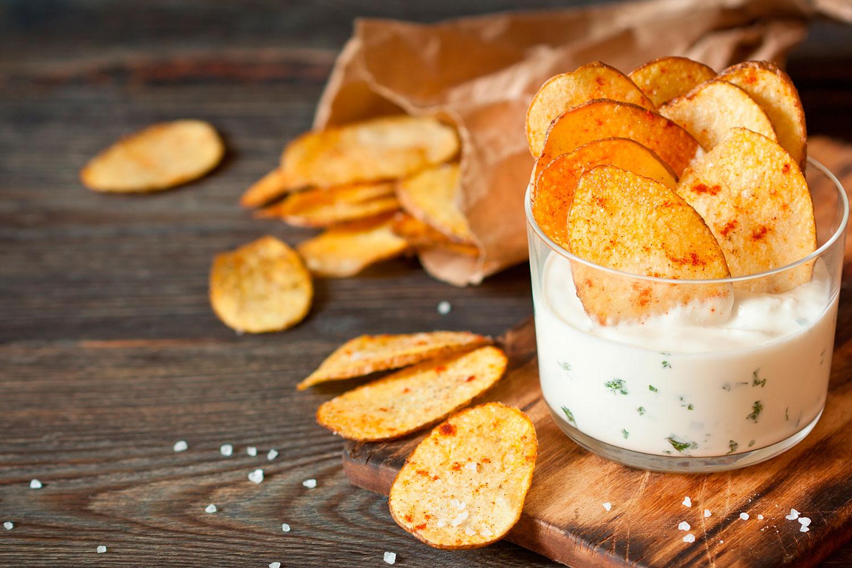 Как приготовить своими руками чипсы